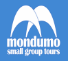 mondumo logo blue and white