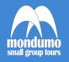 mondumo logo blue and white